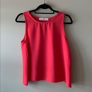 The Impeccable Pig Coral Dress Tank